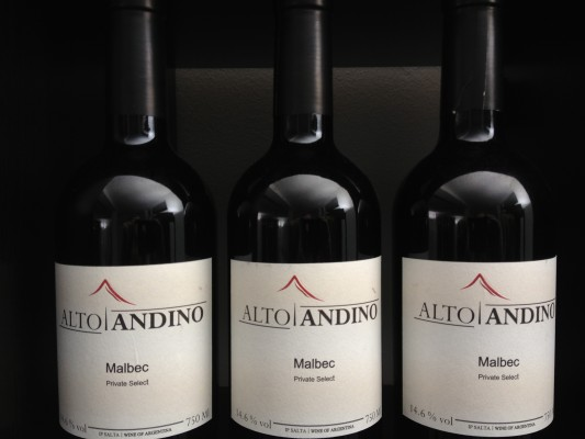 Diegos Altoandino Private Selection 2007, bei VINOTTI Fr. 59.-